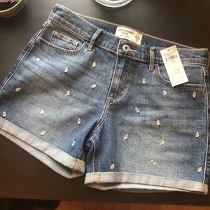 New with tags Abercrombie kids midi short